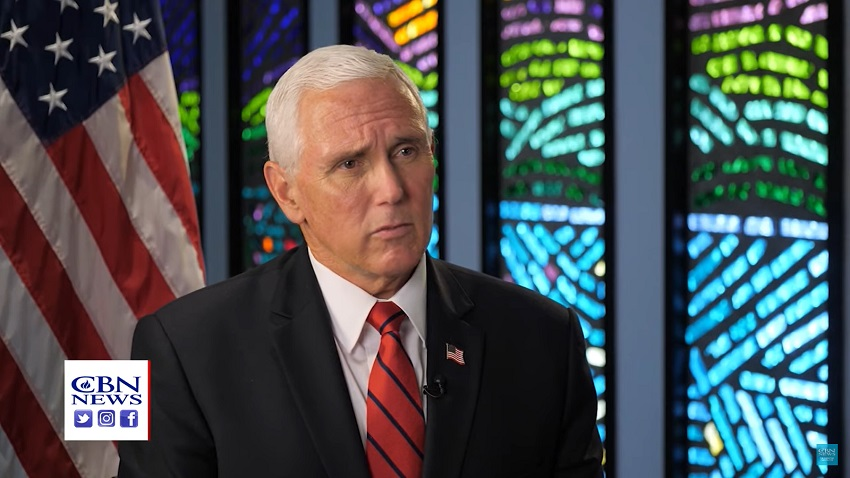 Heeeere's Mike! Some Mike Pence Interview from CBN.