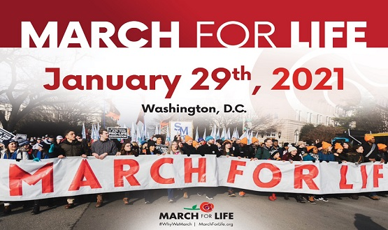 MARCH FOR LIFE! Together Strong: Life Unites!