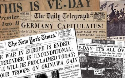 May 8th is VE Day! 76th Anniversary! Taking a Look Back.